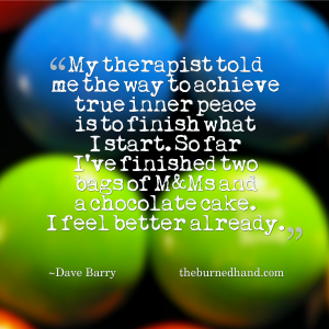 Chocolate Therapy